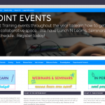 Pt. 1 - Created an events calendar for hosting quick sessions that we called