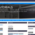 Created Video Tutorials with Adobe Captivate to be able to self-serve our end users with