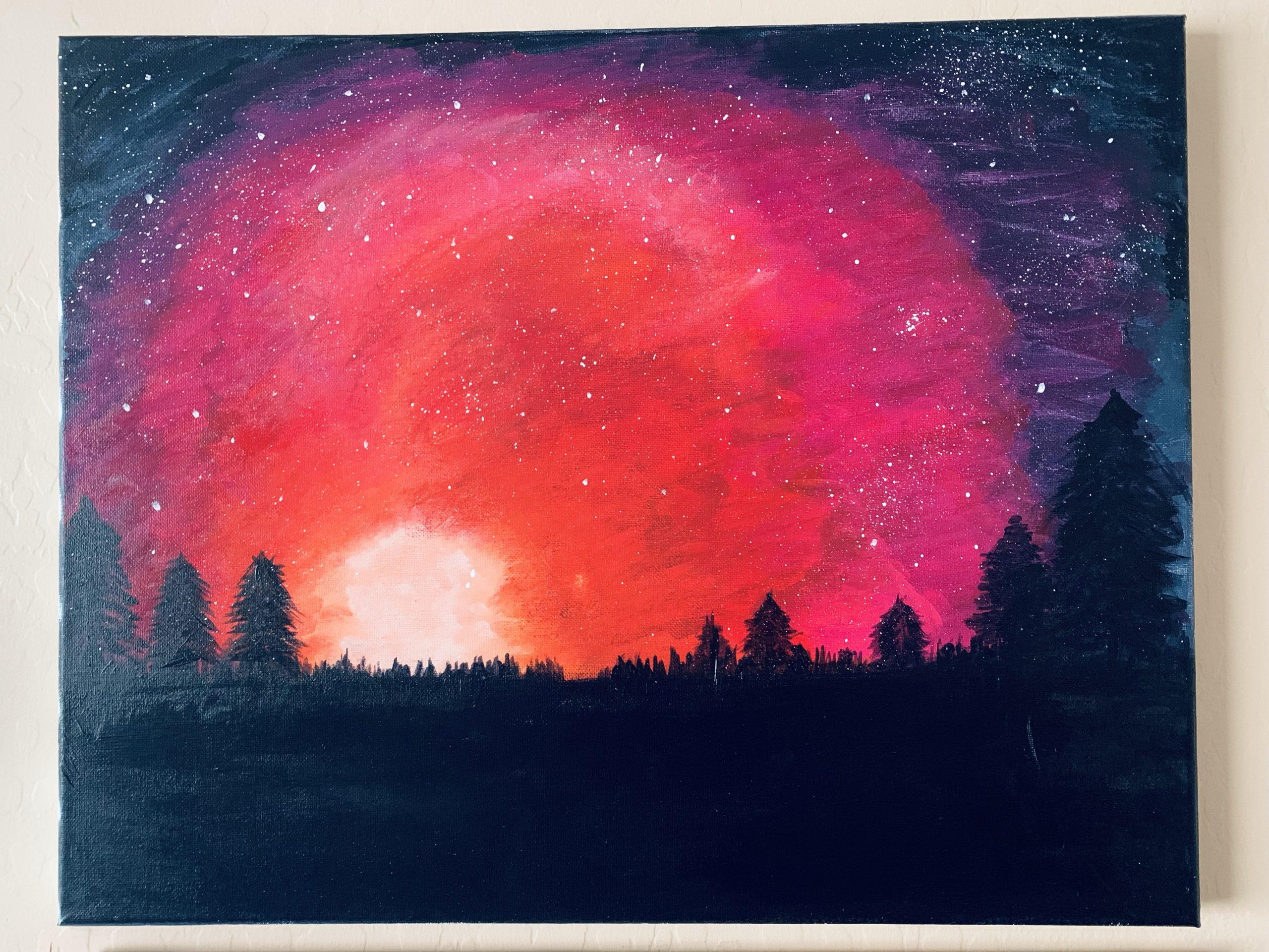 Starry Sunset